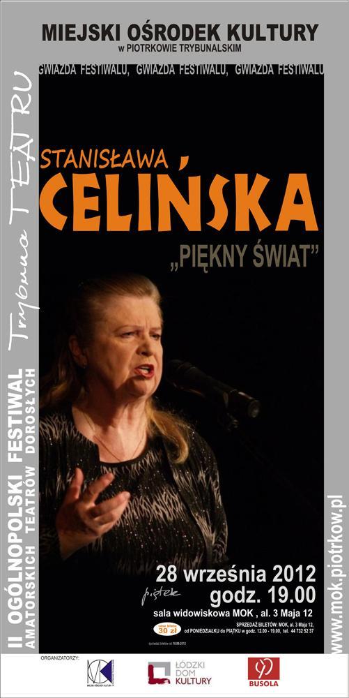 Wieści Stanisława Celińska w Piotrkowie