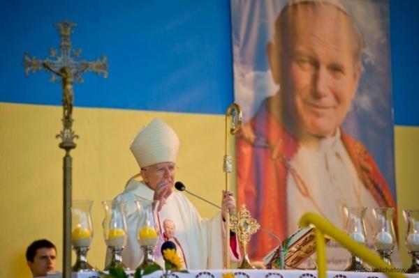 Wieści Bełchatów - Jan Paweł II patronem Bełchatowa-uroczystości