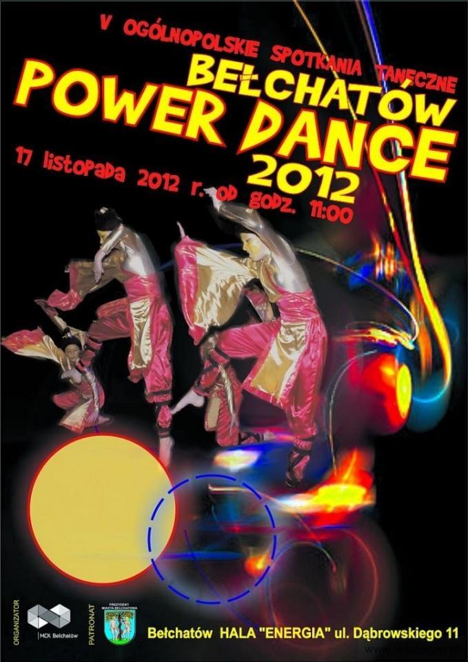 Wieści Bełchatów Power Dance 2012