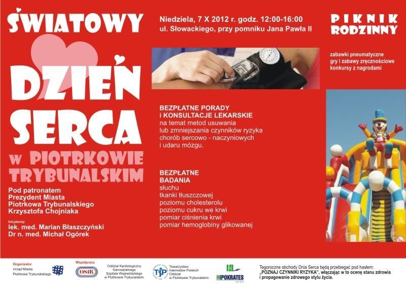 Wieści Piotrków światowy dzień serca-2012