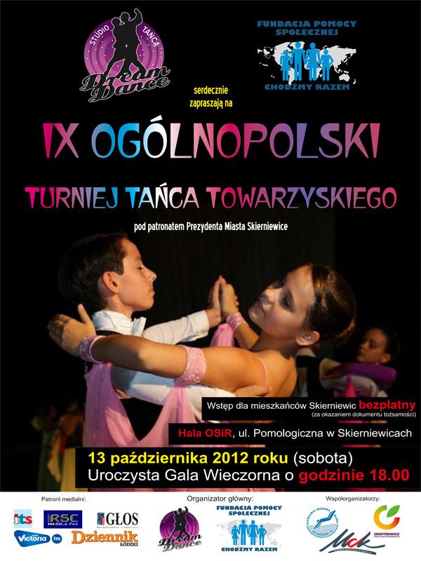 Wieści Skierniewice turniej tańca
