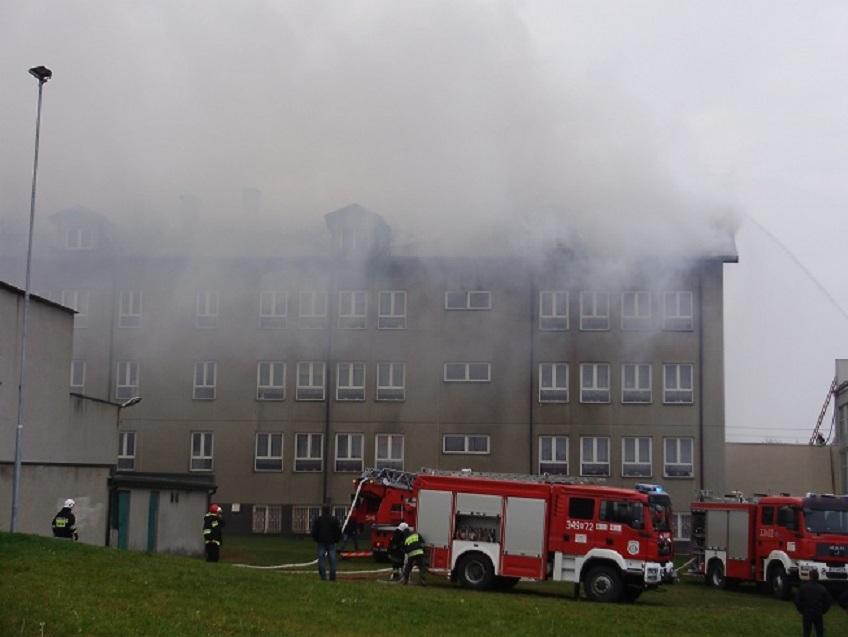Wieści pożar szkoły w Gorzkowicach