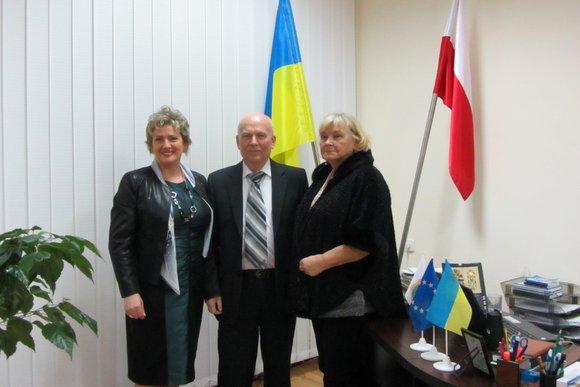 Wieści Burmistrz Wolborza z wizytą w Nietishynie na Ukrainie