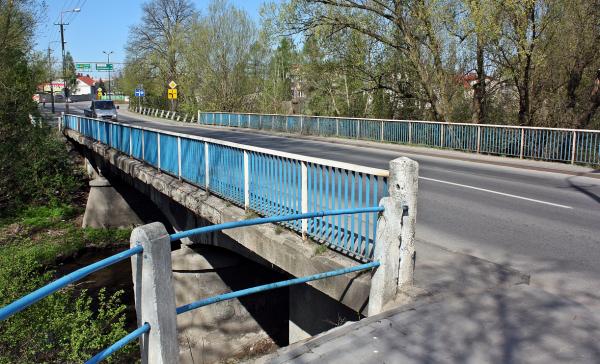 Wieści nowy most na rzece Łupi