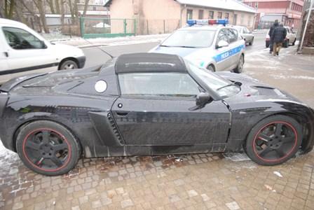Wieści policja Tomaszów - wypadek