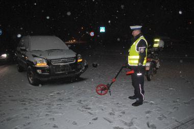 Wieści policja Bełchatów- motorowerzysta ranny w wypadku