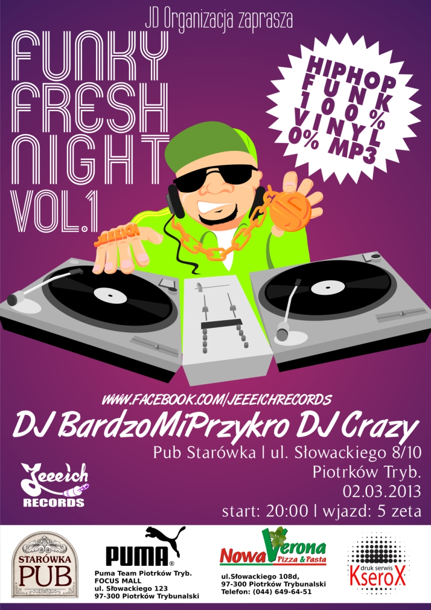 Wieści Funky Fresh Night Vol. 1