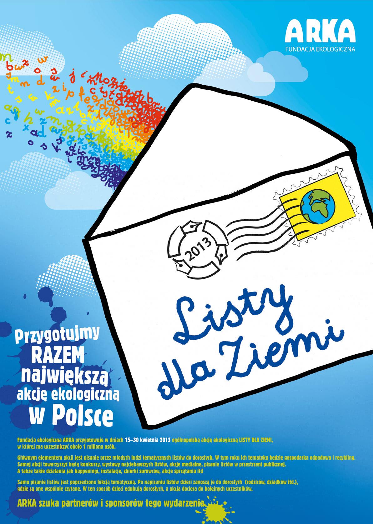 Wieści Plakat_Listy_dla_Ziemi