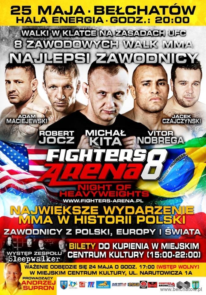Wieści MMA plakat