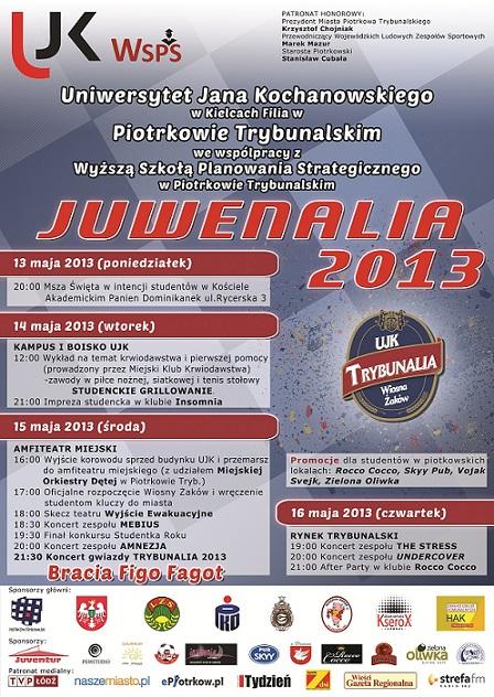 Wieści Piotrków_JUWENALIA_2013