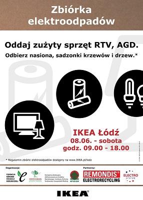 Wieści Zbiórka Elektroodpadów w IKEA Łódź