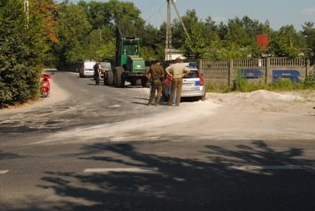 Wieści wypadek Smardzewice