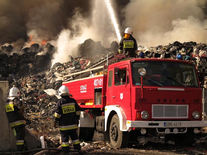 Wieści pożar w Zelowie