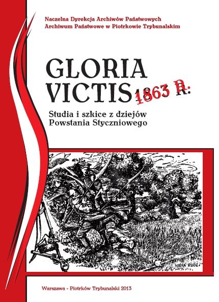 Wieści Okładka Gloria Victis 1863