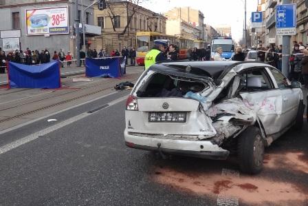 Wieści wypadek tramwajowy w Łodzi