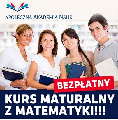 Wieści SAN kurs Matematyka