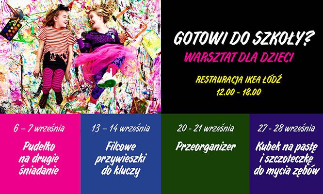 IKEA Łódź_Warsztaty Gotowi do szkoły