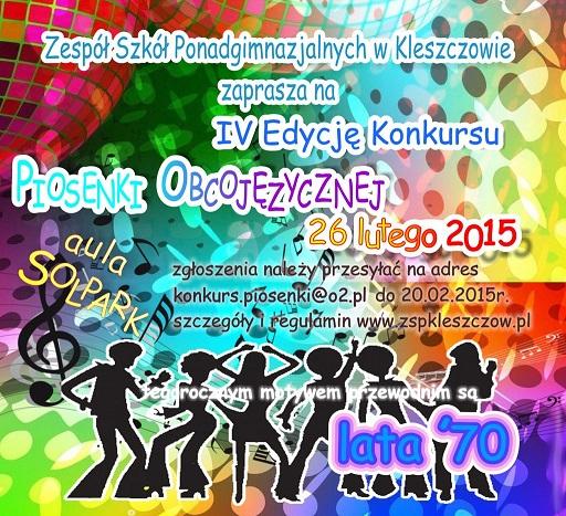 Wieści Kleszczów, konkurs piosenki, Solpark