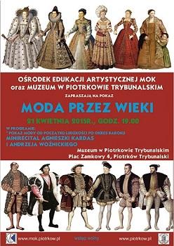 pokaz mody średniowiecze