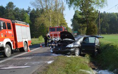 Wieści Podlesie wypadek