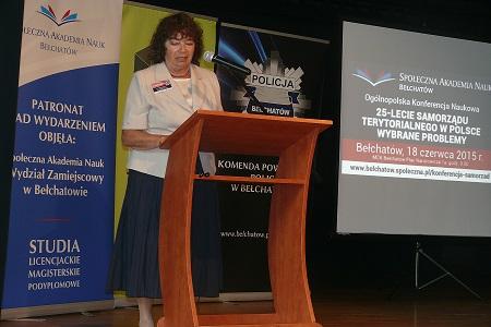 Prof. zw. dr hab. Teresa Dębowska-Romanowska