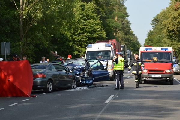 Wieści wypadek w Osinie
