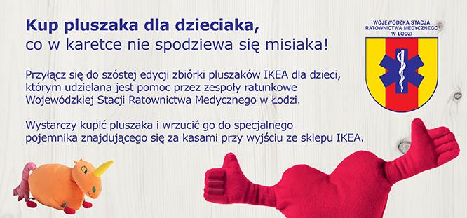 IKEA Łódź_Pluszaki znów będą pomagać