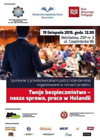 plakat_spotkanie_policja_Belchatow