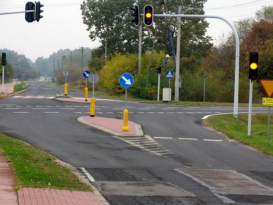 Żłobnica_skrzyżowanie