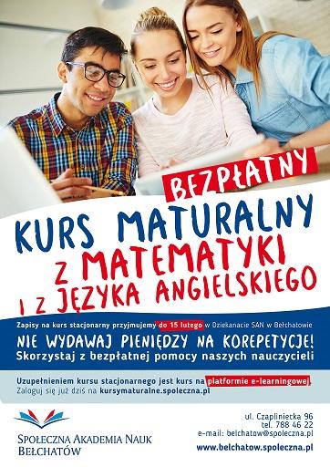 kurs_maturalny_plakatBELCHATOW