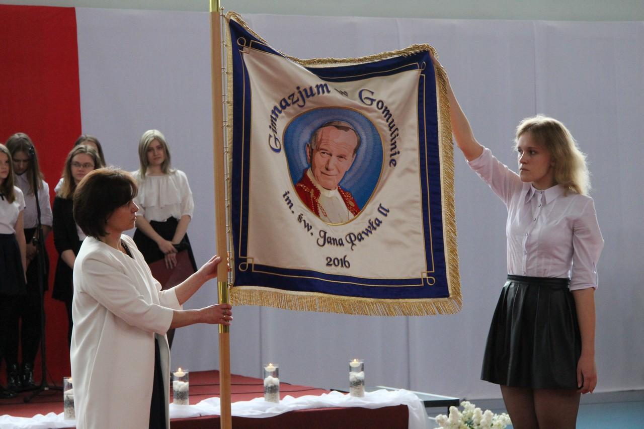 gimnazjum Jana Pawła II w Gomulinie