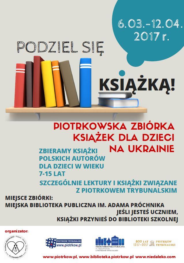 zbiórka książek Piotrków