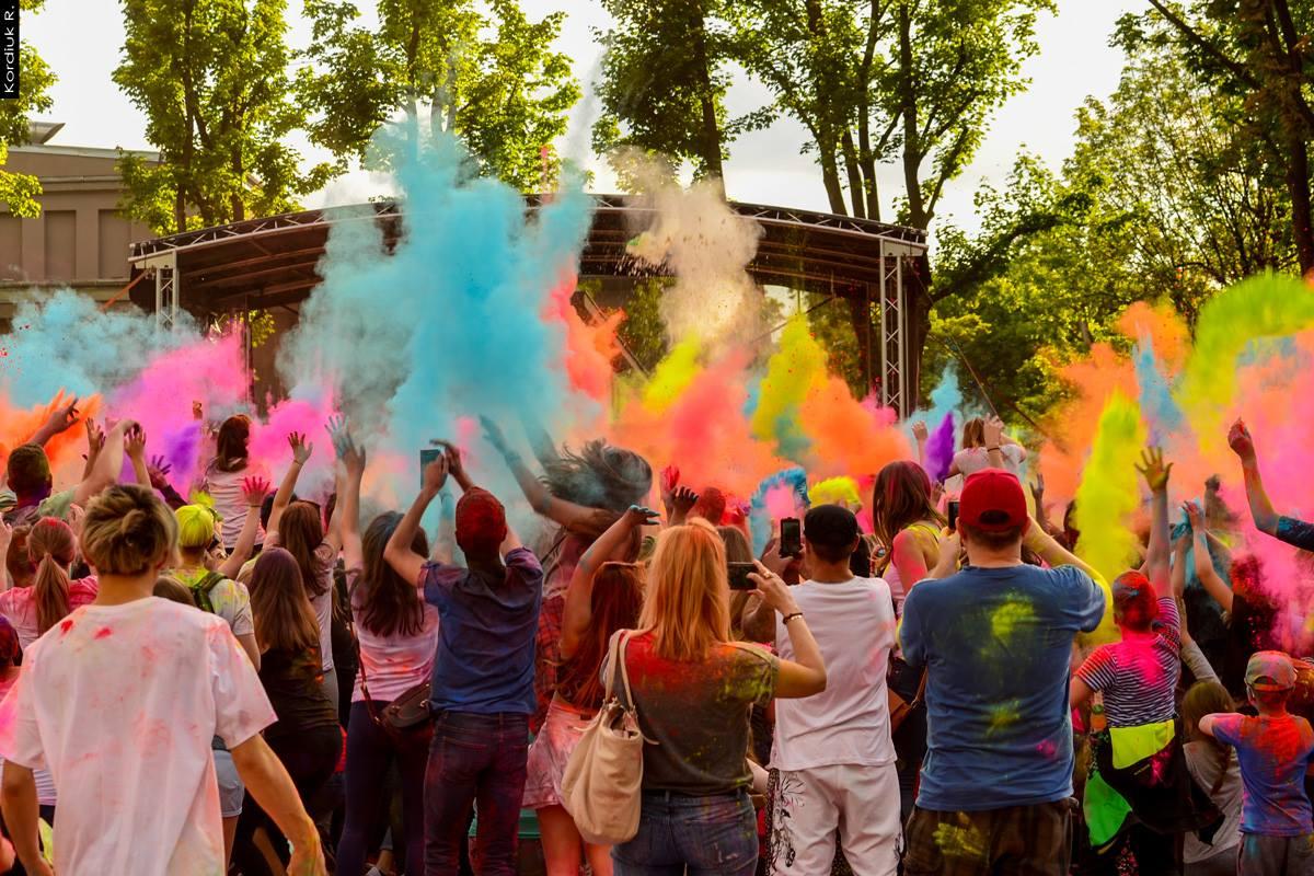 Holi Festival Poland